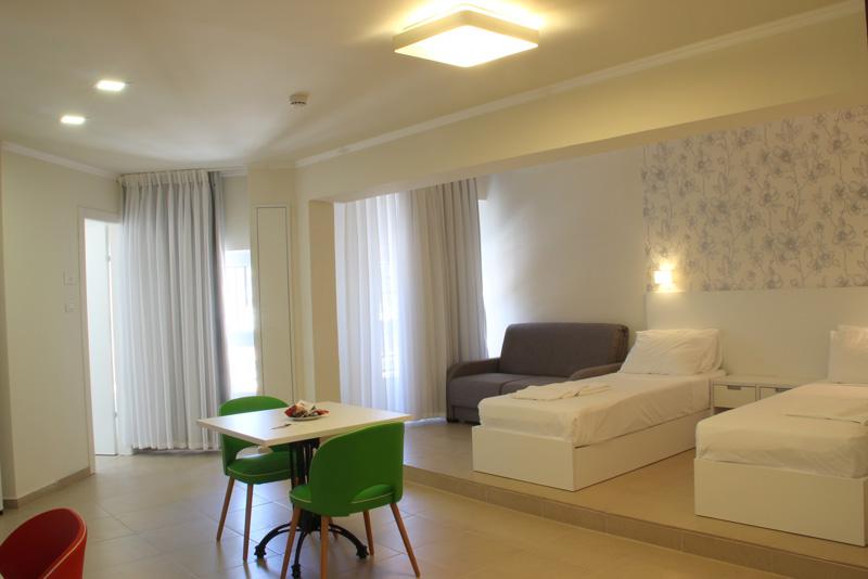 Маленький отель в Хайфе