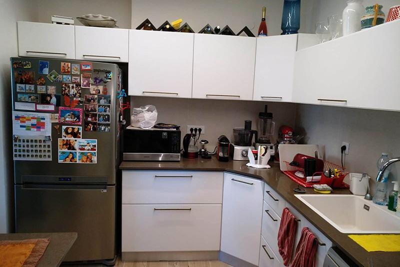 кухня после обновления