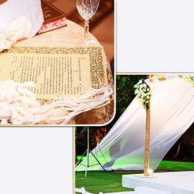 Реформистская свадьба в Израиле – раввин Ицхак. Традиционная еврейская свадьба в Израиле. Реформистская хупа.