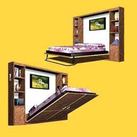 Мебельный магазин в Ришон ле Ционе «Wallbed». Кровать трансформер. Мебель трансформер в Израиле.