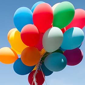 Воздушные шары в Израиле Angry Balloon. Оформление воздушными шарами торжеств в Израиле.