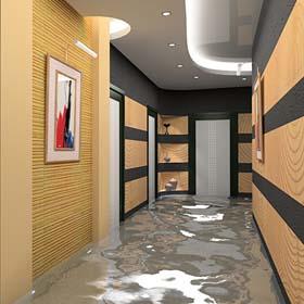 Компания Greendom в Израиле. Наливные покрытия на полы и на стены в Израиле. 3D стены в Израиле. Ремонт квартир и помещений в Израиле.
