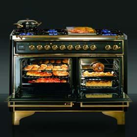 """""""ILVE La Cucina"""" - кухонная бытовая техника в Израиле. Газовые плиты. Комбинированные печи. Кофеварки."""