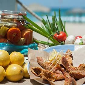 Ресторан в Ришон ле Ционе «Калдерон». Ресторан на берегу моря. Ресторан морепродуктов в Ришон ле Ционе.