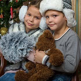Семейная и детская Новогодняя фотосессия в студии в Ришон ле-Ционе. Фотограф в Израиле. Фотограф в Ришон ле-Ционе. Фотостудия в Израиле.